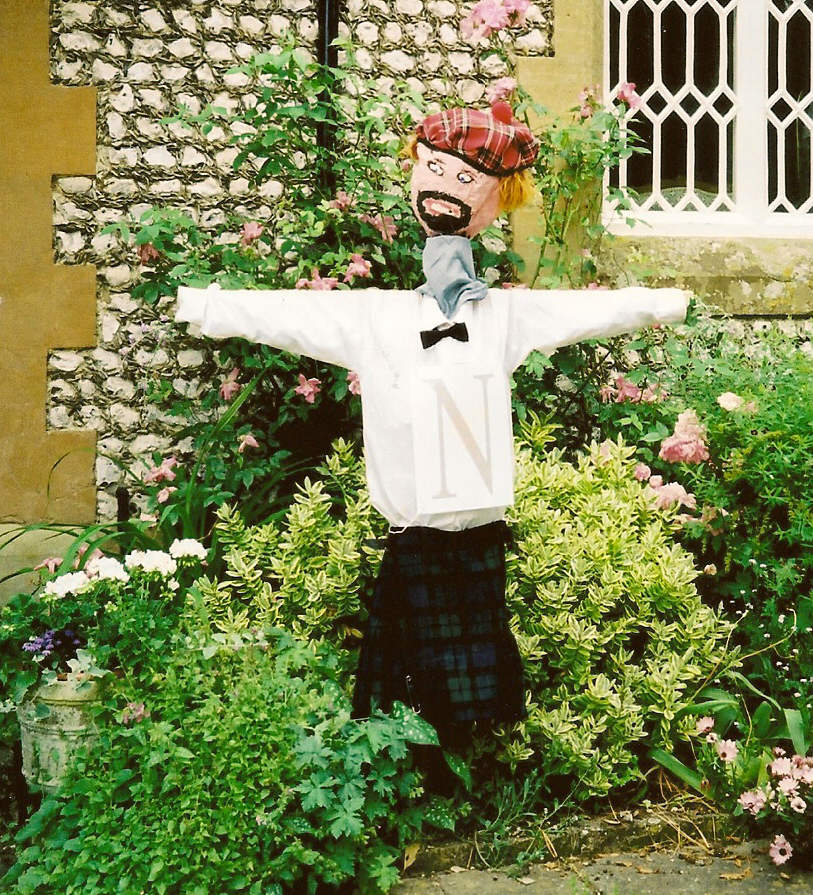 Oving Scarecrow day is fast approaching May 13th