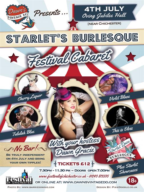 Starlet's Burlesque Flyer