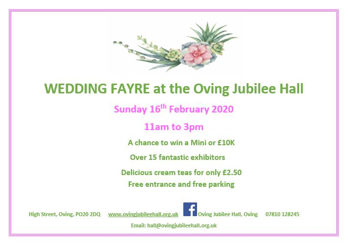 Wedding Fayre OJH