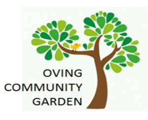 Oving Community Garden logo